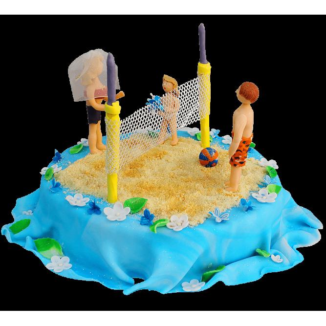 Торт Волейбол на пляже №311