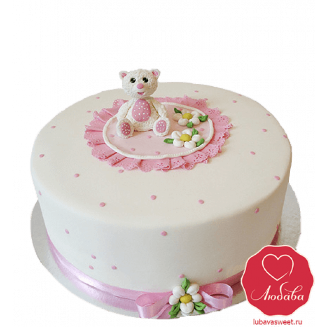 Торт в виде мишки №748