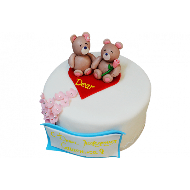 Торт Мишки №164