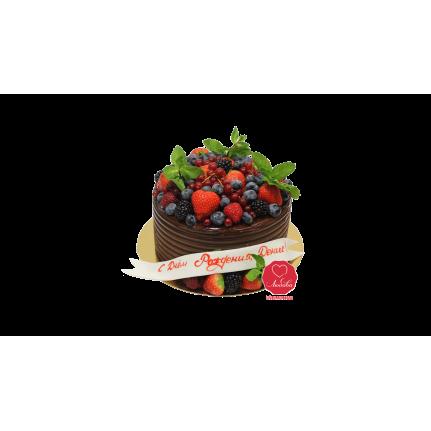 Торт Ягодно-шоколадный №1074
