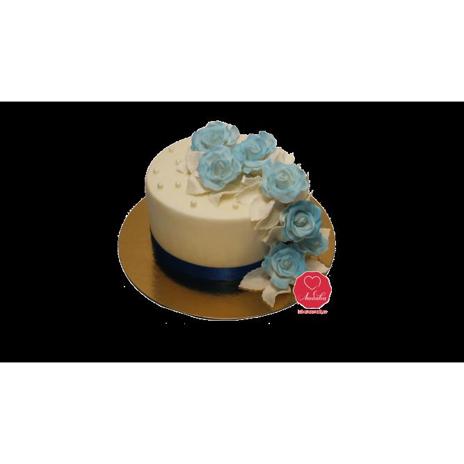 Торт Цветение роз №922