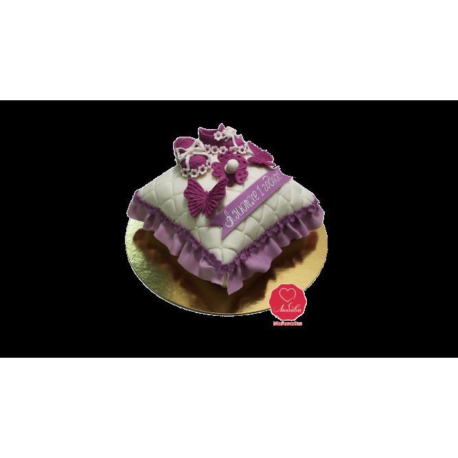 Торт Пинетки на подушке на годик №1025