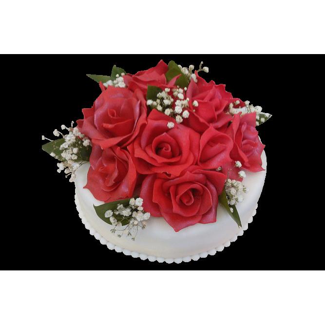 Торт свадебный Букет невесты №297