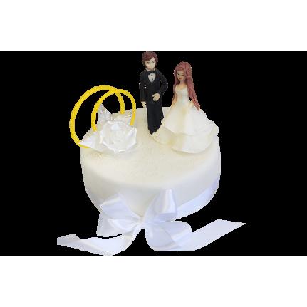 Торт свадебный Жених и невеста №326