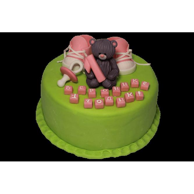 Торт Бурый медвежонок №447