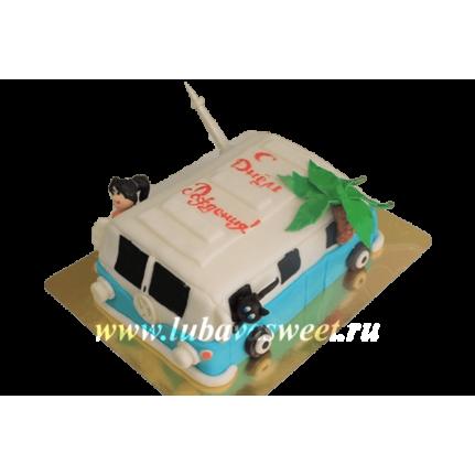 Торт Праздничный Автобус в отпуск №272