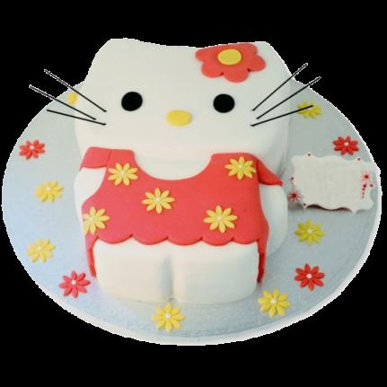 Торт Кошечка в платье №1114