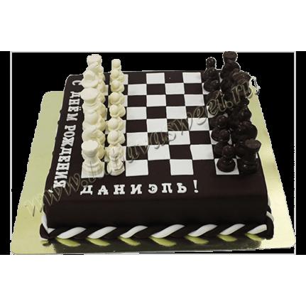 Торт шахматная доска №659