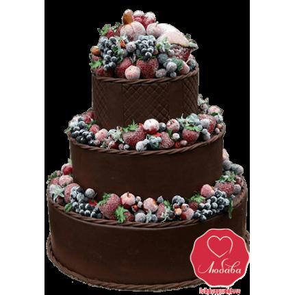 Торт Шоколадно-ягодный №785