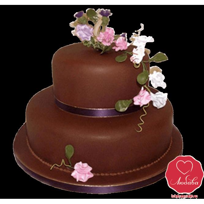Торт шоколадный №795