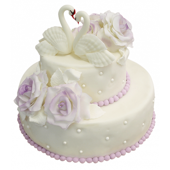 Торт свадебный Дуэт №400