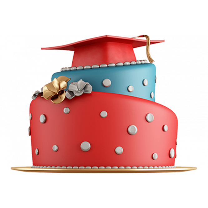 Торт на окончание школы №595