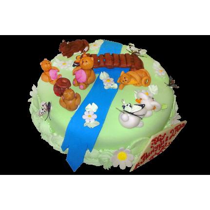 Торт Сказочная поляна №407