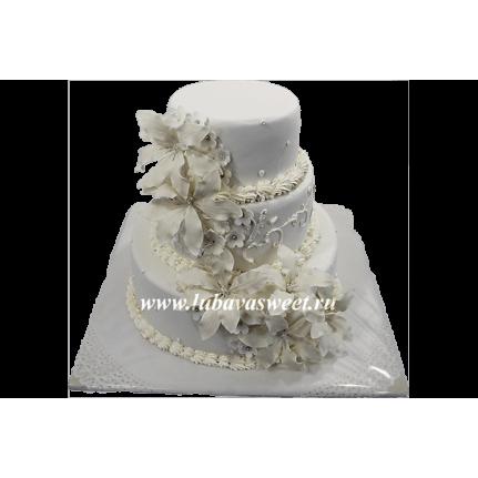 Торт Свадебная фантазия №601