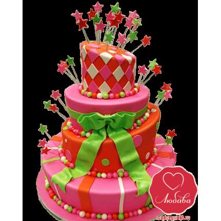 Торт праздничный веселый №774