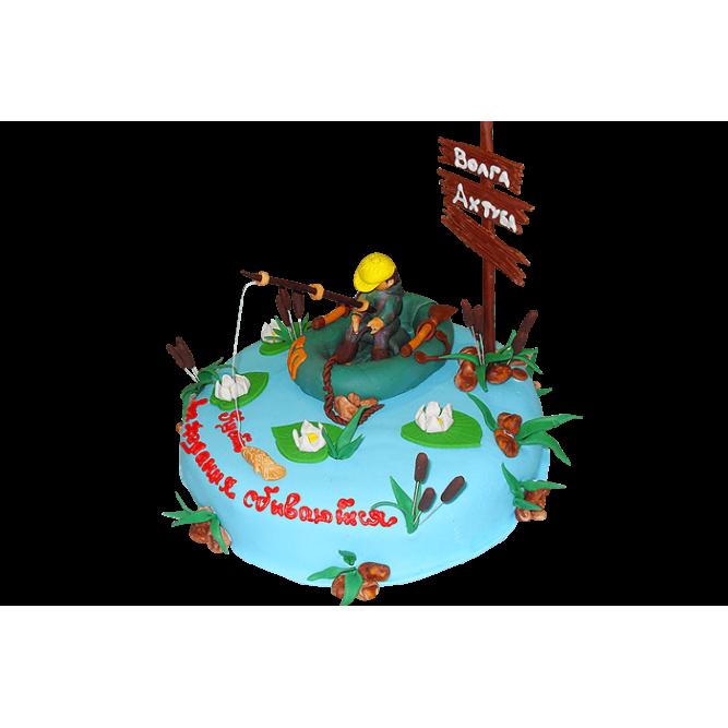 Торт Рыбак №396