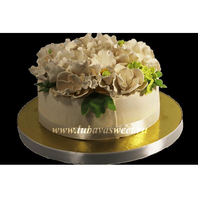 Торт Цветочная клумба №620