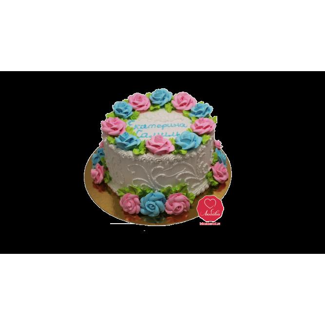 Торт Цветочная поляна №903