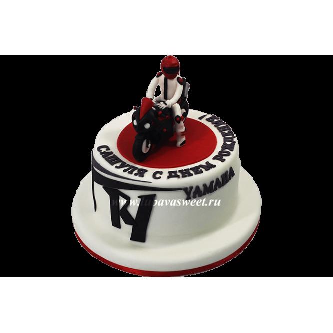Торт для мотоциклиста №611