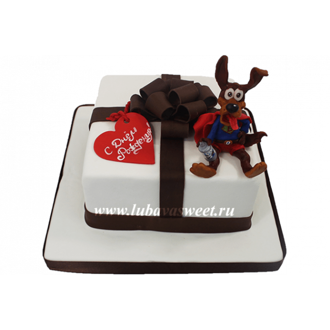 Торт Подарок №647