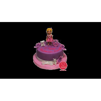 Торт Девочка с мишкой №1062