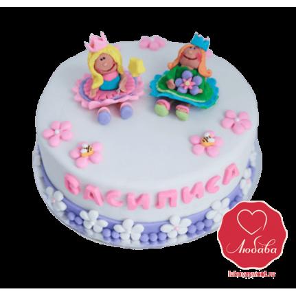 Торт для девочки на праздник №841