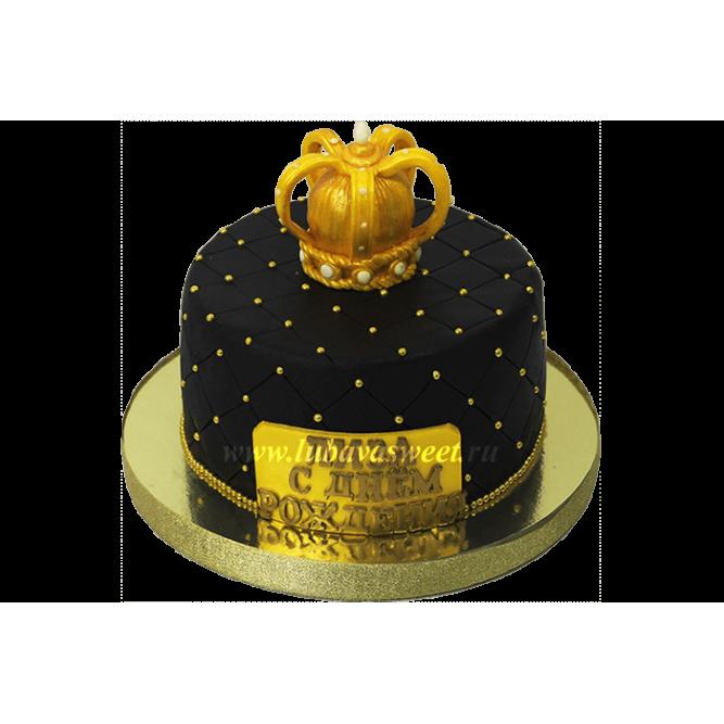 Торт Золотая корона №600