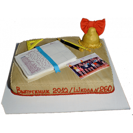 Торт Выпускник школы №588
