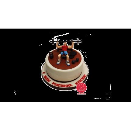 Торт Тренажерный зал №963