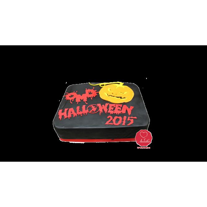 Торт Хеллоуин с тыквой №913