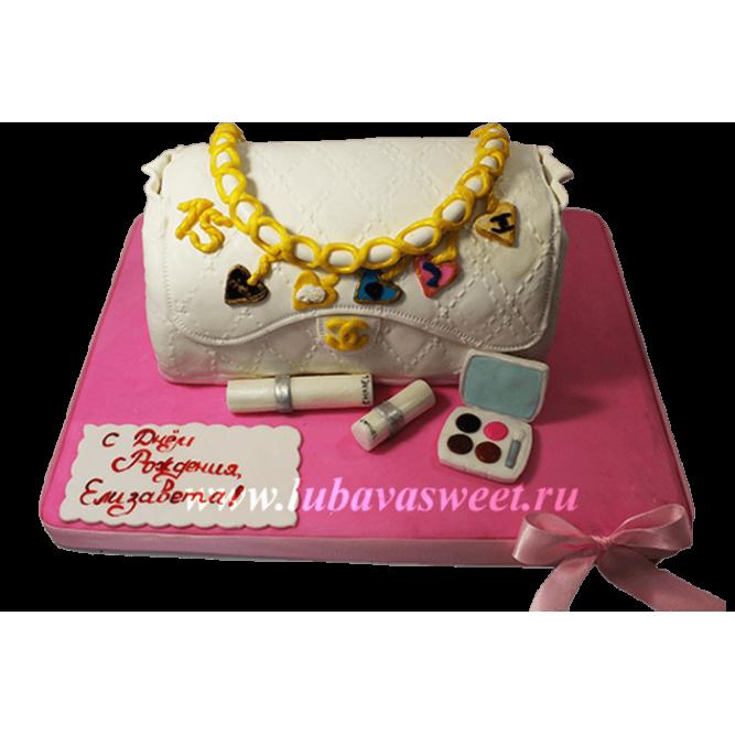 Торт сумочка №669