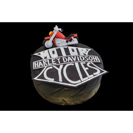 Торт праздничный Харлей Девидсон №250