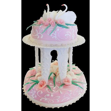 Торт свадебный Гармония любви №315