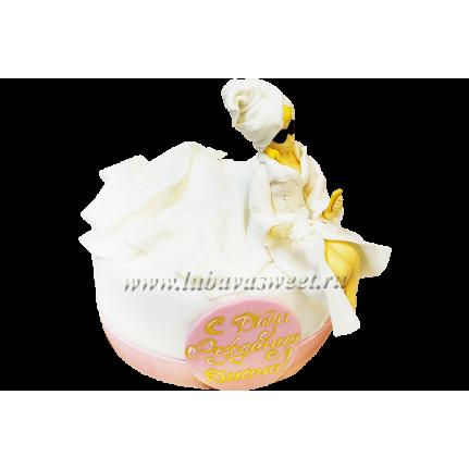 Торт на день рождения девочке №156