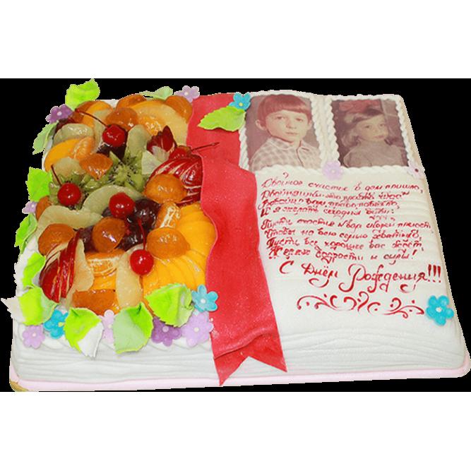 Торт С днем рождения с фото №120
