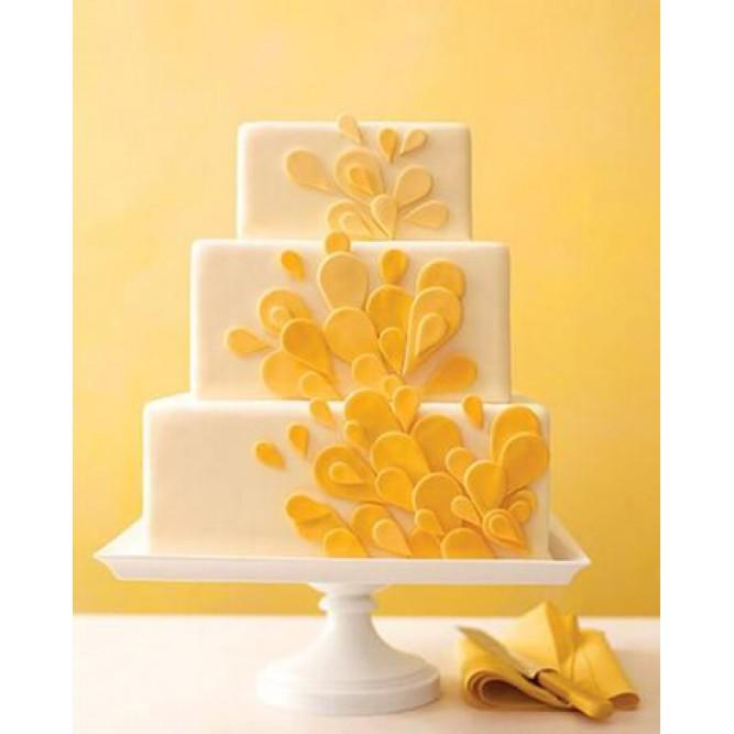Торт в желтых тонах №725