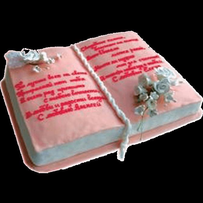 Торт в виде книги №592
