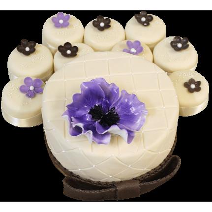 Торт Подарочный с капкейками №383