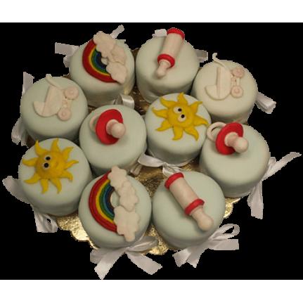 Торт Капкейки для малышей №461