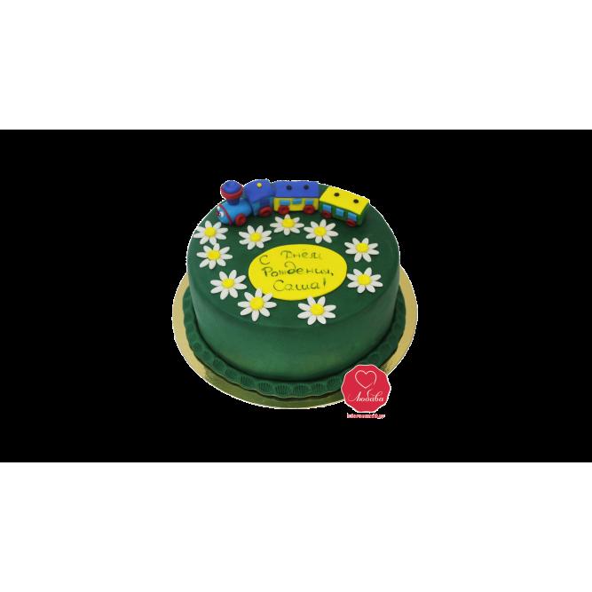 Торт Паровоз №696