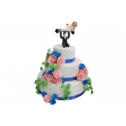 Торт свадебный Любовь №356