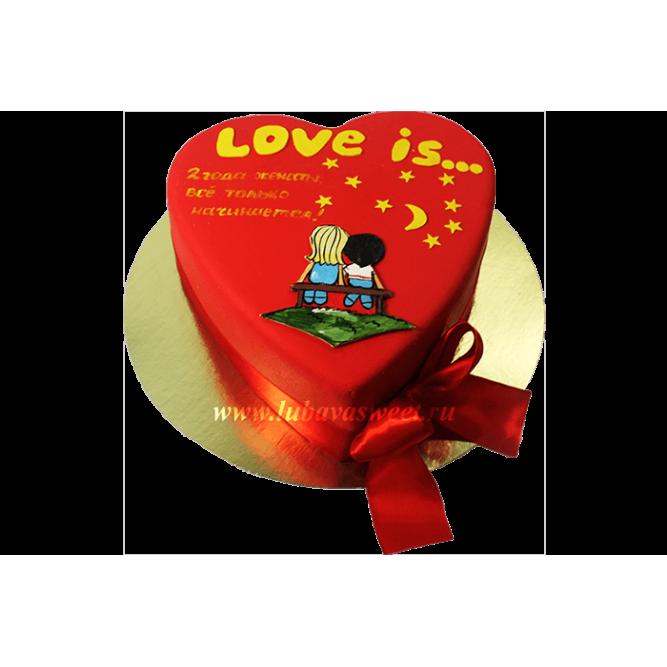 Торт Любовь это №632