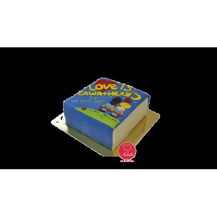 Торт Love is Жвачка №1130