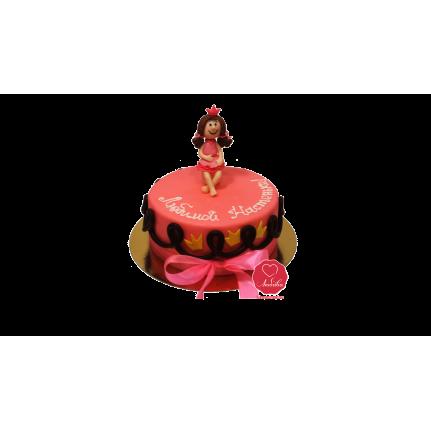 Торт Любимой принцесе №1105