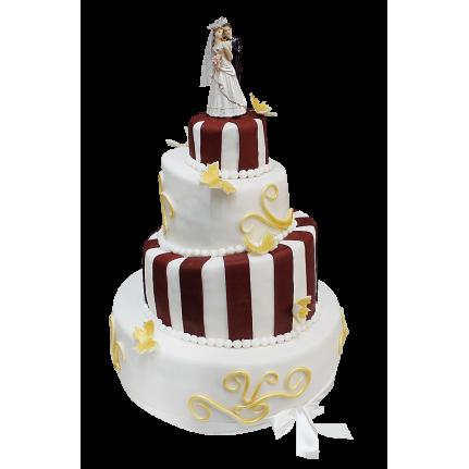 Торт свадебный №259