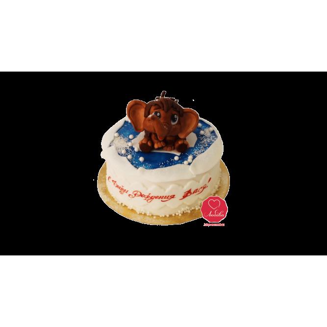 Торт Мамонтенок №984