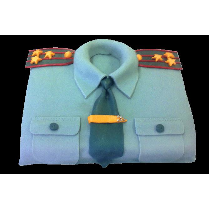 Торт Военная форма №309