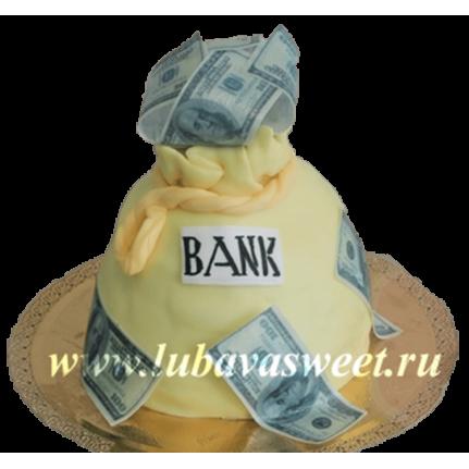 Торт Мешок денег №266