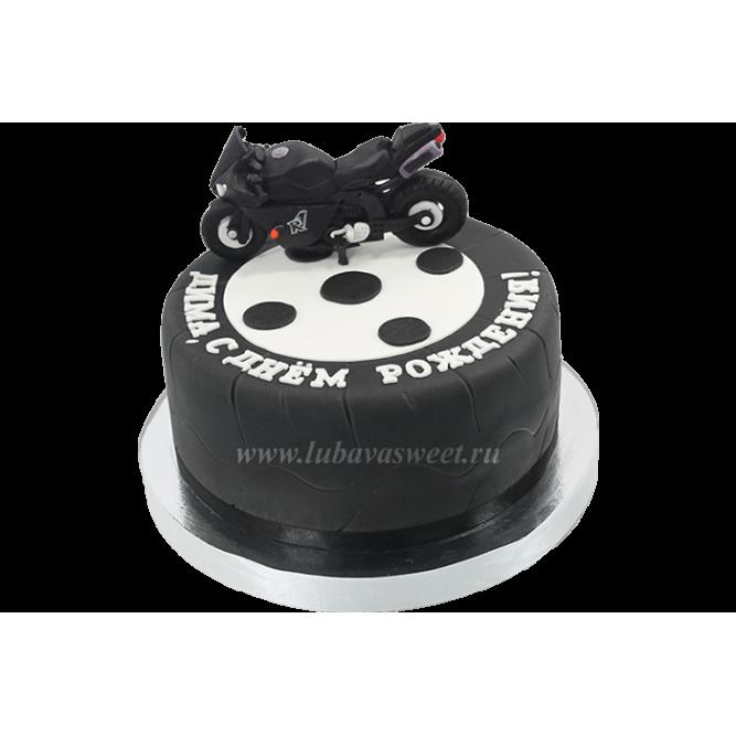 Торт для мотогонщика №612