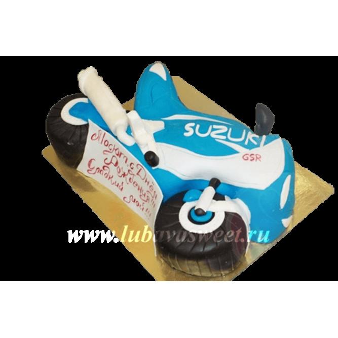 Торт мотоцикл №238